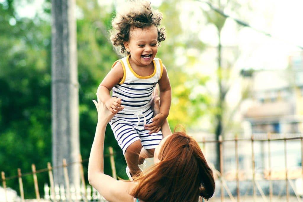 Go higher mommy